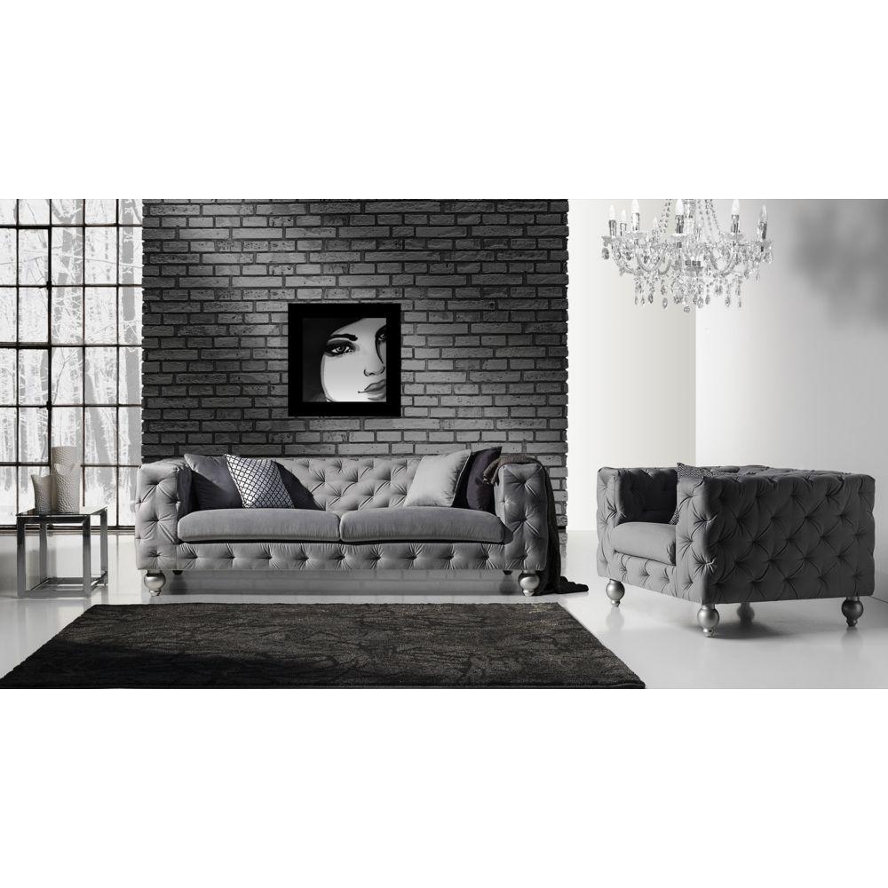 Elbm - Canapé Sofa 3 Design Ref Prado - Canapés - Rue Du ... encequiconcerne Canapé Prado Occasion