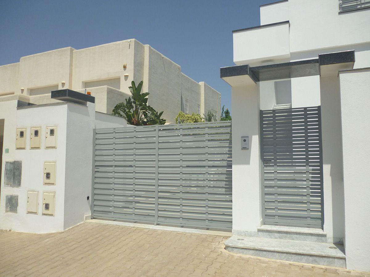 Épinglé Sur Mur pour Decoration Cloture Exterieur Maison En Tunisie