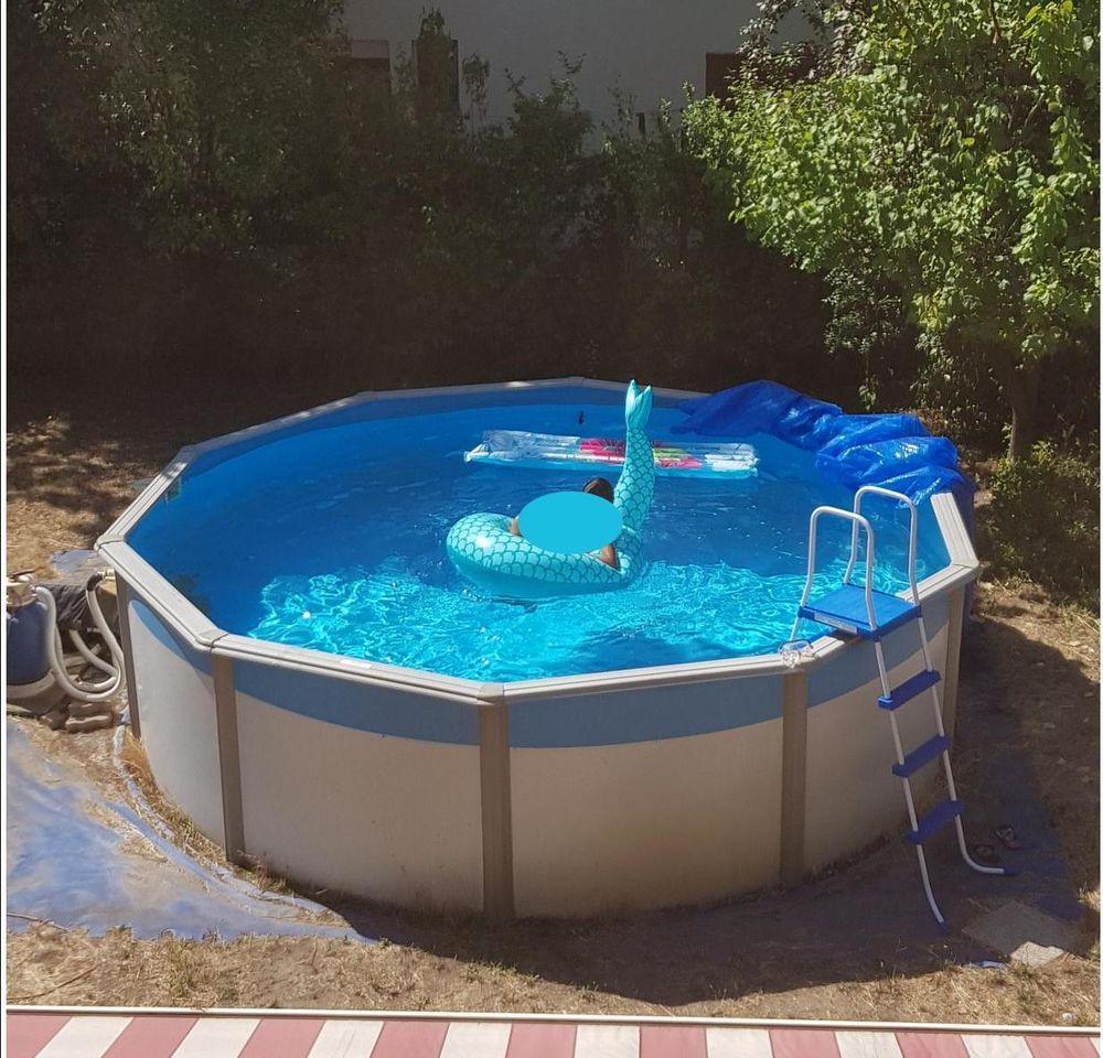Épinglé Sur Trendy Pool Ideas serapportantà Piscine Hors Sol Occasion
