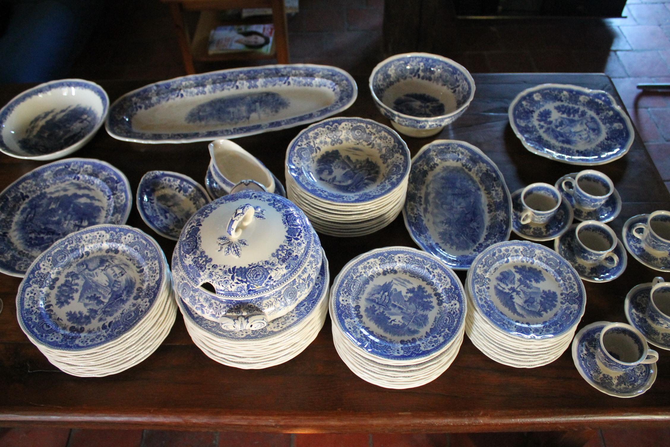Estimation Vase, Verrerie, Porcelaine...: Vaisselle Villeroy ... tout Villeroy & Bochvaisselle Ancienne Collection