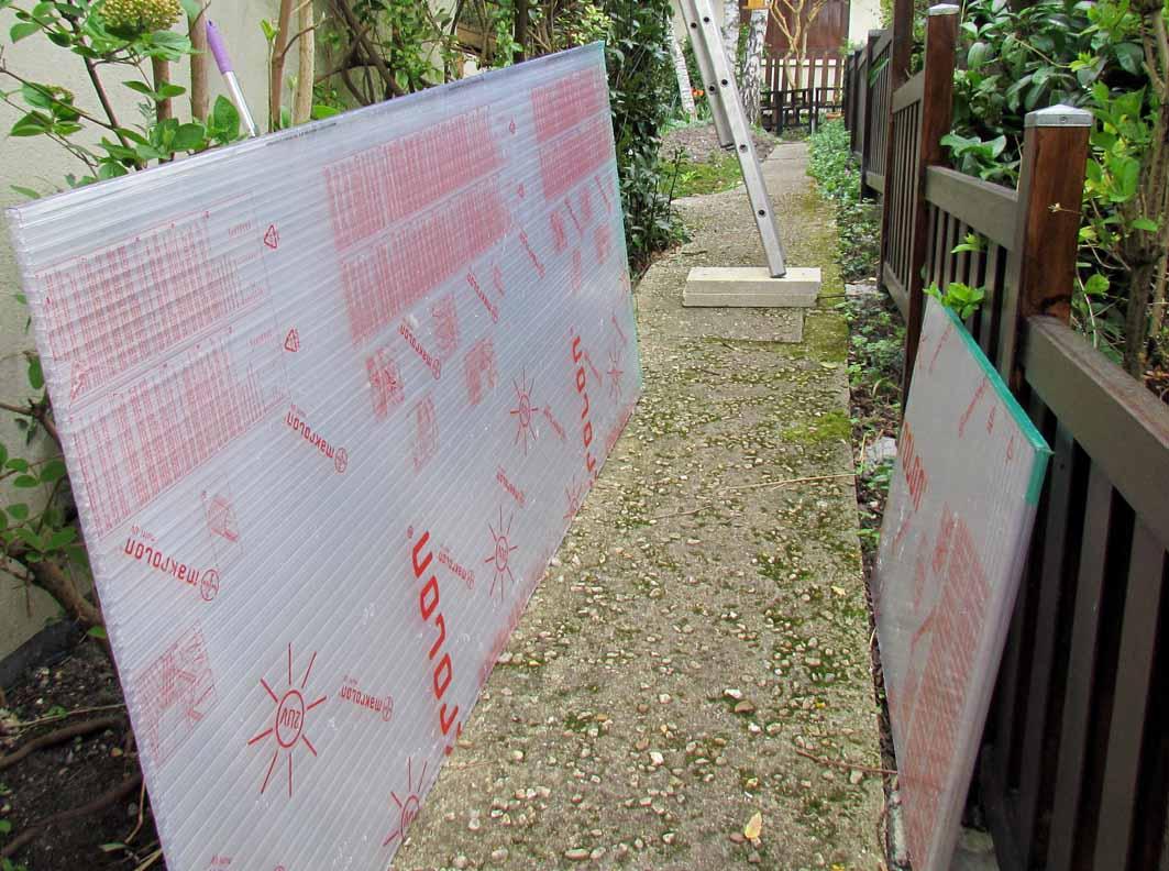 Fermeture D'Un Côté De Terrasse Couverte | Au Jardin De Mo ... pour Fermer Un Cote De Terrasse