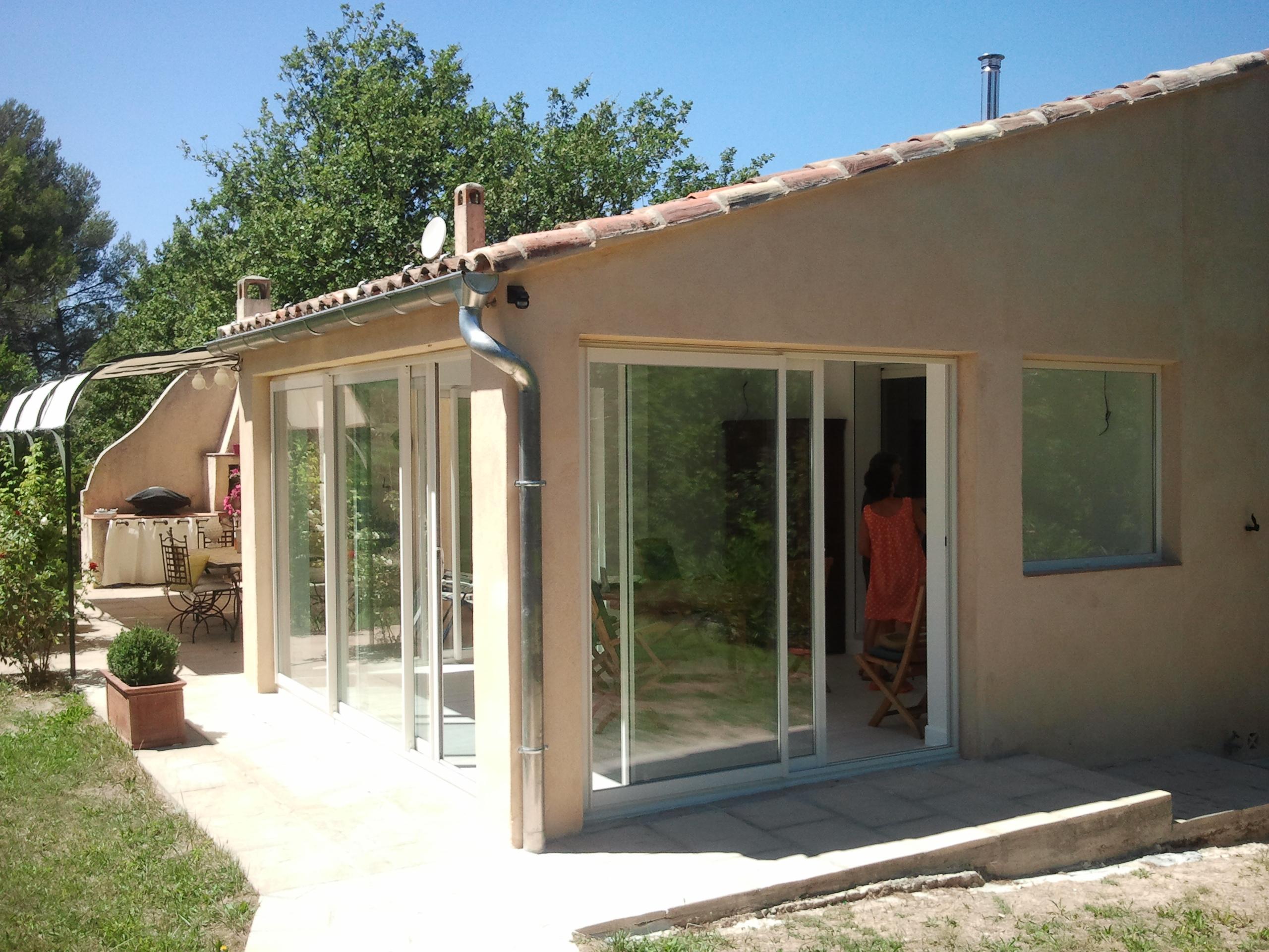 Fermeture Terrasse Couverte Aubagne - Technic Habitat destiné Photo Fermer Une Terrasse Couverte