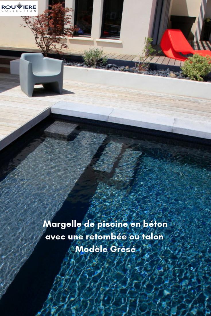 Finition Élégante Avec Les Margelles À Talon #Modernegärten ... avec Margelle À Talon