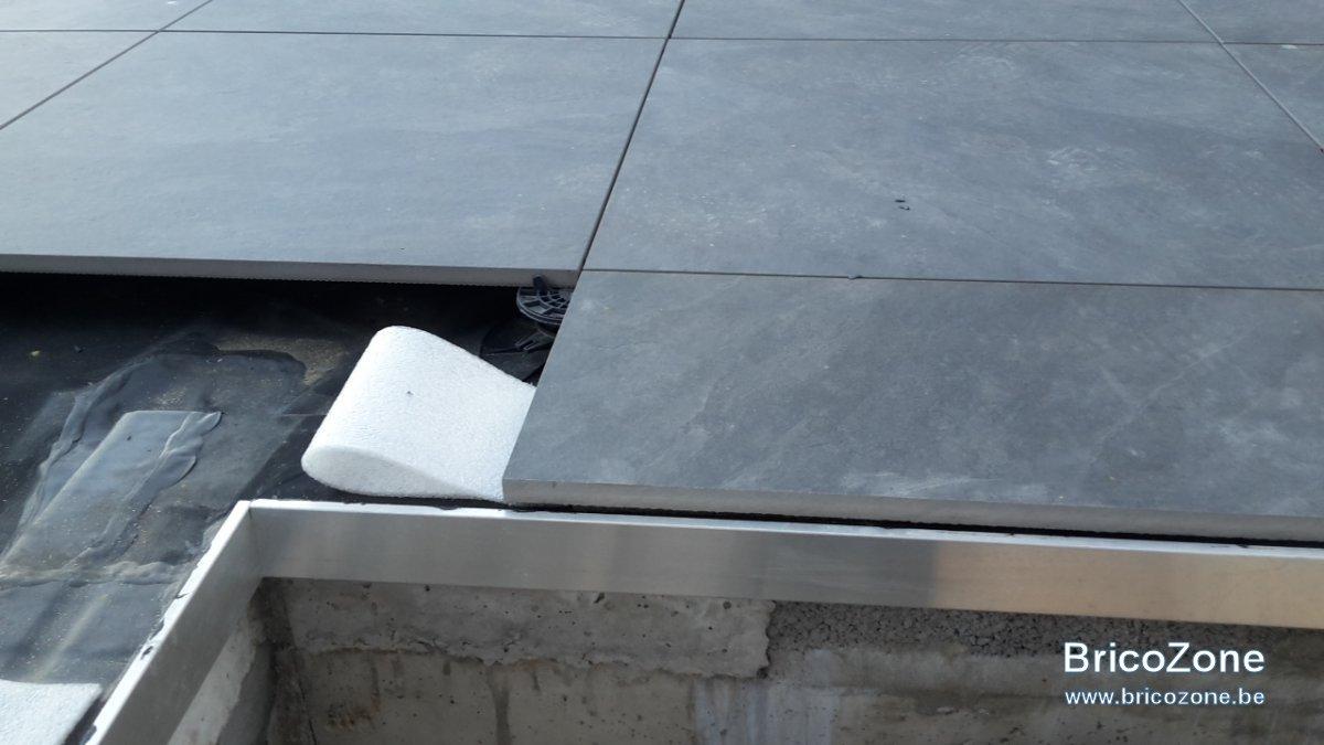 Finition Terrasse Dalle Sur Plot pour Profil Alu Pour Terrasse Sur Plot