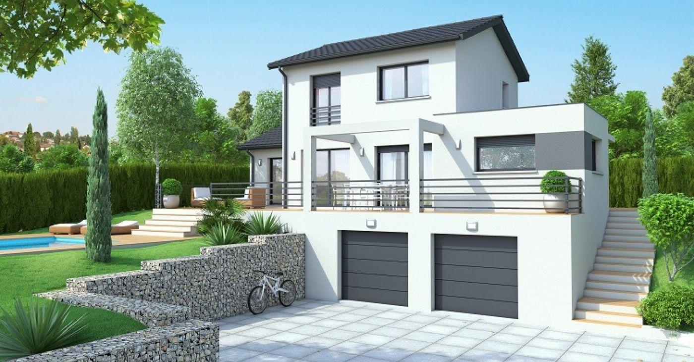 Formidable Maison Avec Sous Sol Sur Terrain En Pente ... tout Maisons Design En Pente