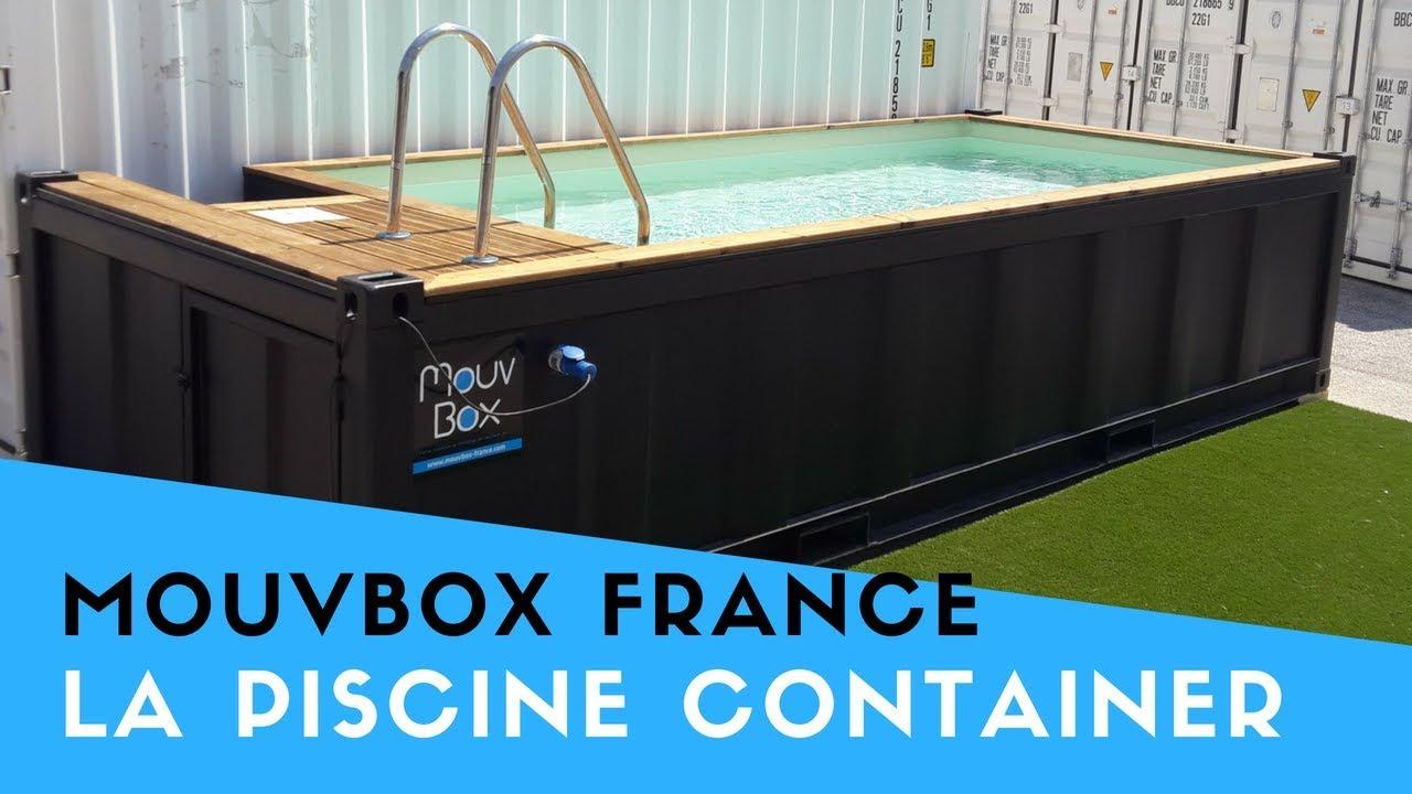 France 2   La Piscine En Container Maritime - Mouvbox France. destiné Piscine Container France