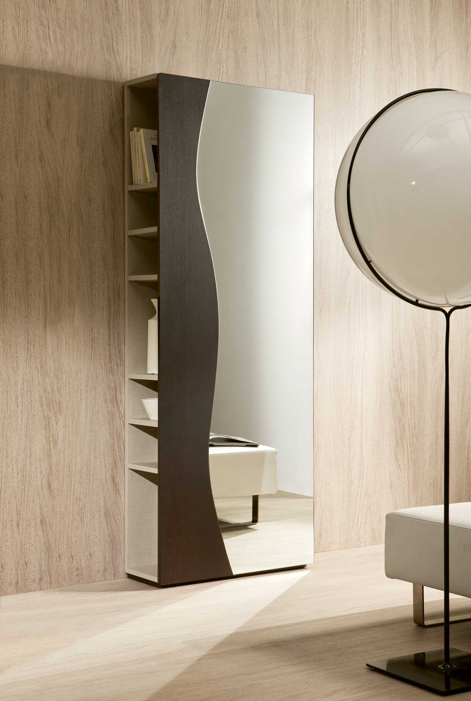 Futur Meuble D'entrée En Bois Wengé dedans Meuble D'Entrée Design Italien