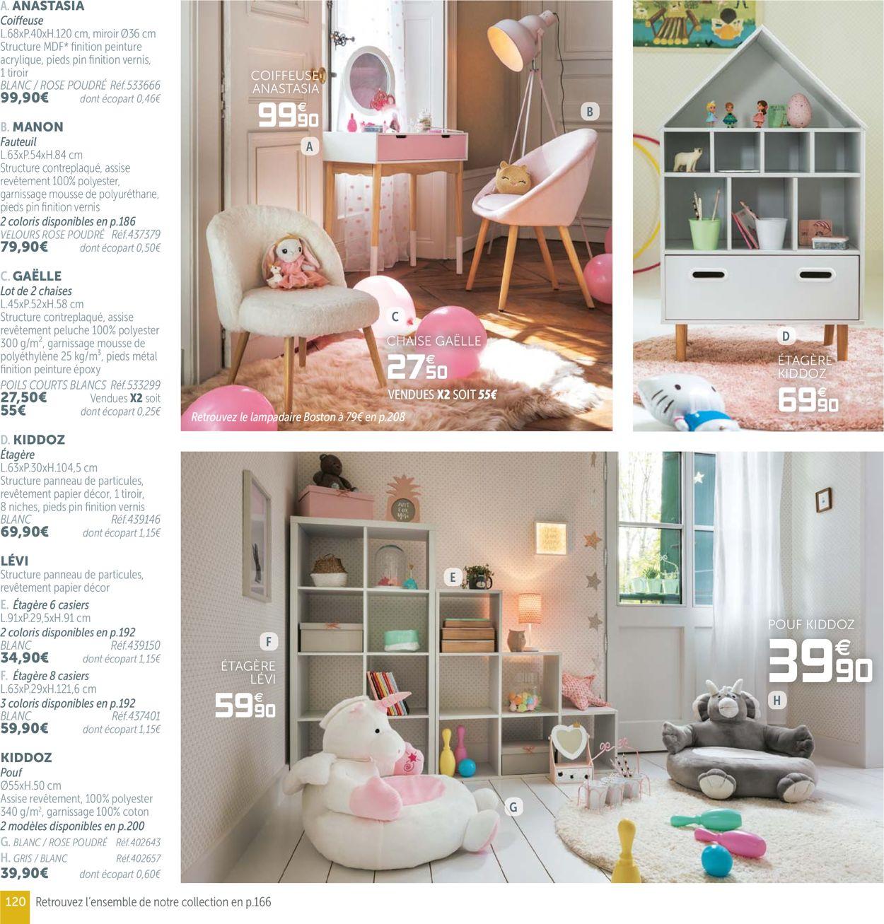 Gifi Catalogue Actuel 19.08 - 31.07.2020 [120] - Catalogue ... dedans Fauteuil Rose Gifi
