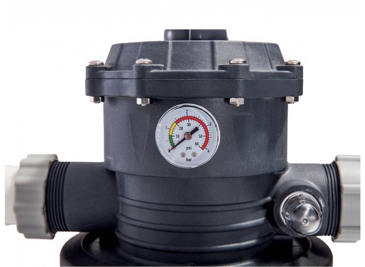 Groupe De Filtration À Sable 6 M³/H - Intex - avec Pompe Filtration Piscine Hors Sol Intex