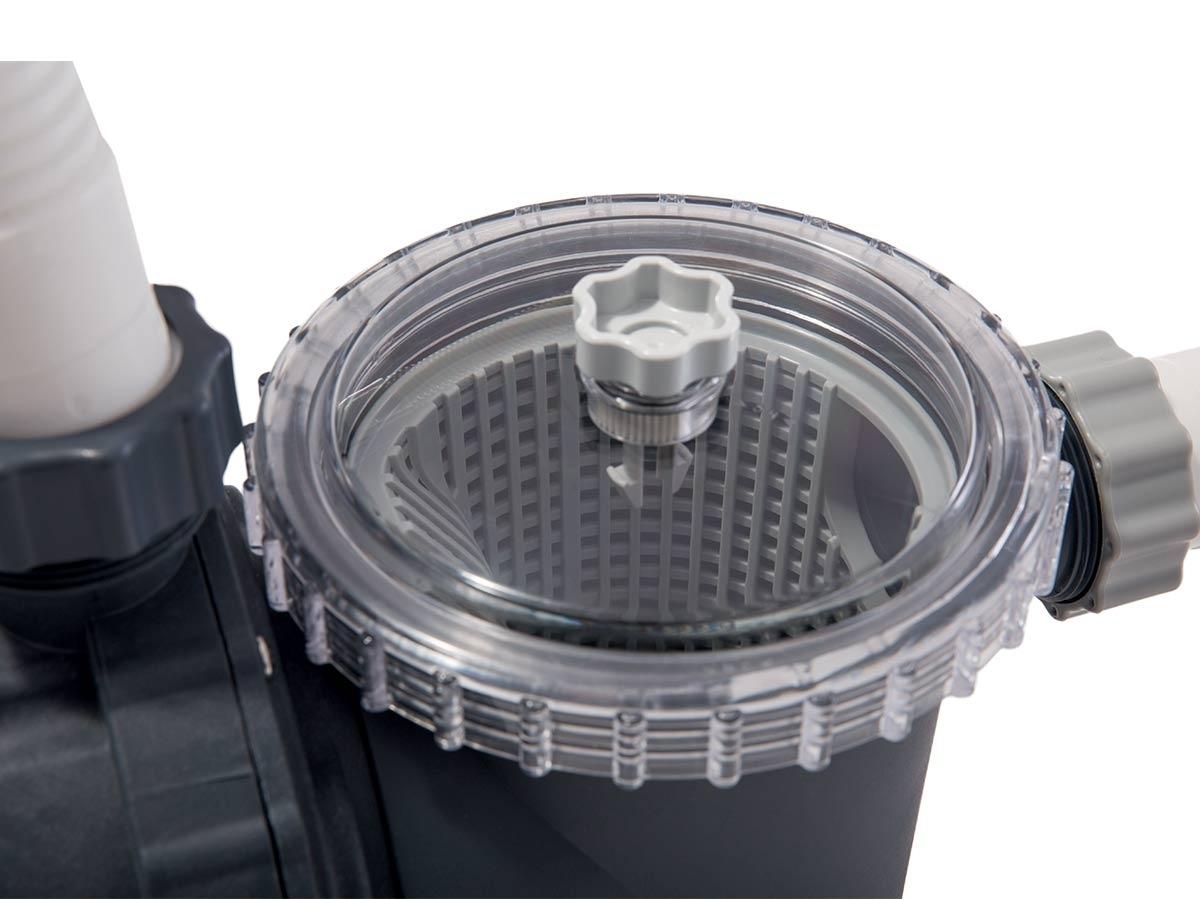 Groupe De Filtration À Sable 8 M³/H - Intex - concernant Pompe Filtration Piscine Hors Sol Intex