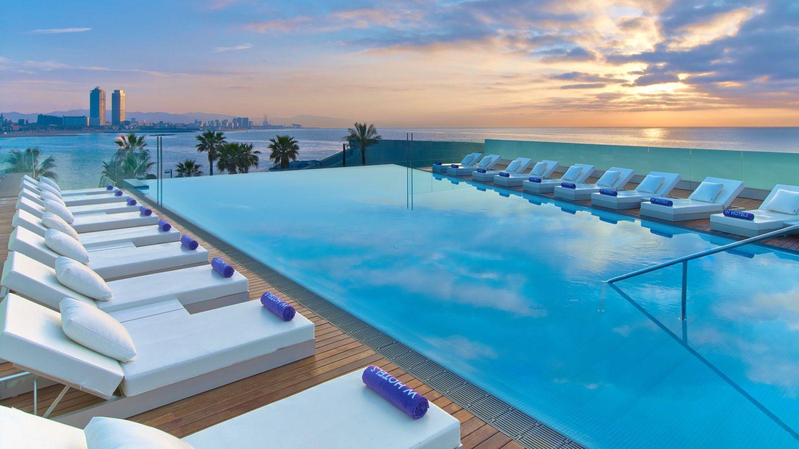 Hotel Barcelone : Plus De 500 Hôtels À Barcelone à Hotel Barcelone Avec Piscine
