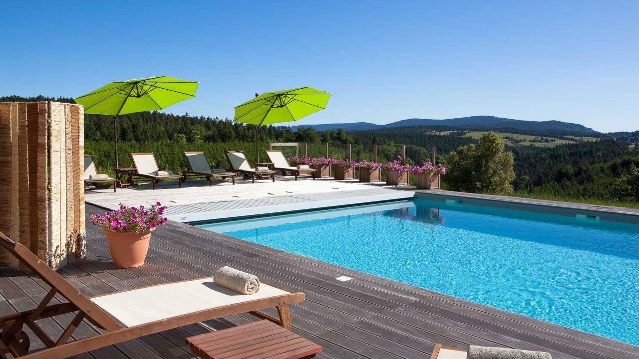 Hotel Et Spa En Ardèche Avec Piscine | Le Fort Du Pré Bien-Être serapportantà Hotel Ardeche Avec Piscine