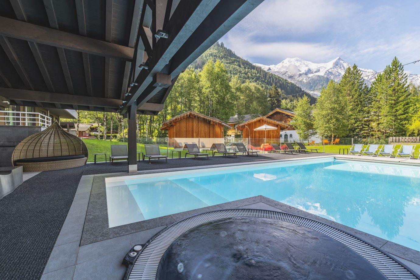 Hôtel Piscine Chamonix - Le Refuge Des Aiglons**** destiné Piscine De Chamonix