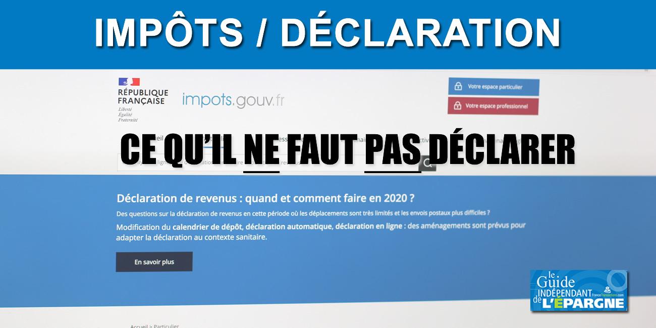 Impôt : Déclaration De Revenus, Ces Montants À Ne Pas ... avec Declaration Piscine Impots