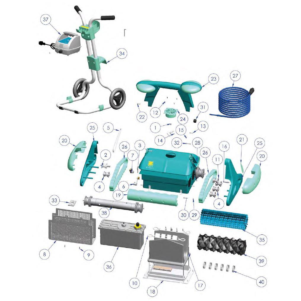 Indigo - France Accessoires Piscines serapportantà Robot Piscine Zodiac Indigo