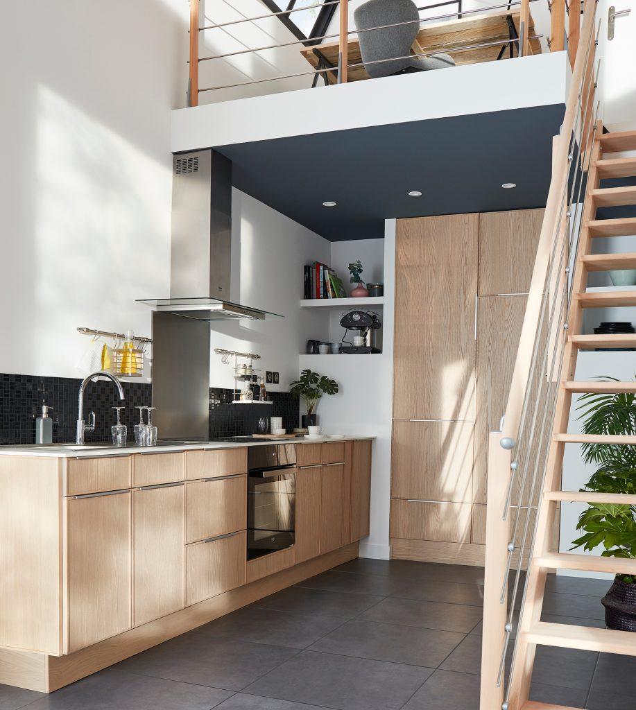 Installer Une Mezzanine Dans Le Salon : Les Solutions Déco intérieur Garde-Corps Plexiglas Castorama