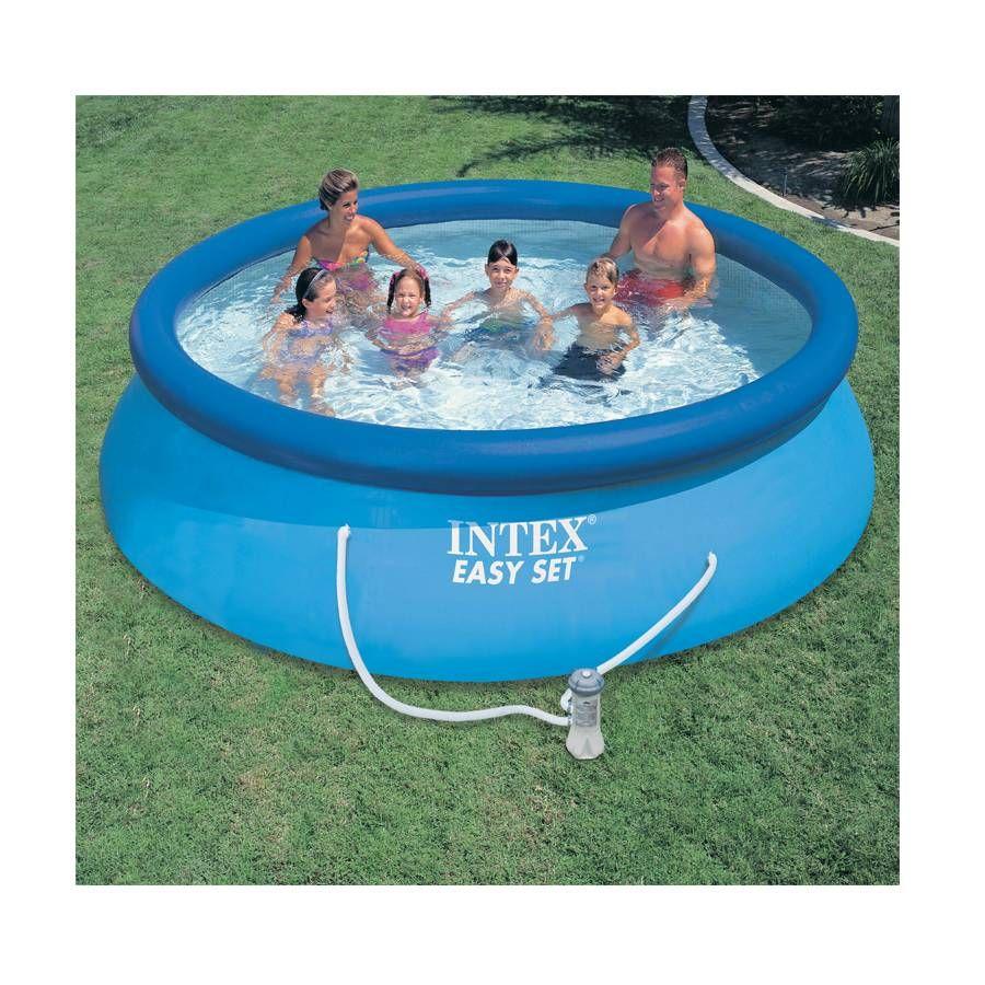 Intex 3.6M (12Ft) Easy Set Pool Set | Toysrus Australia ... à Piscine A Balle Toysrus