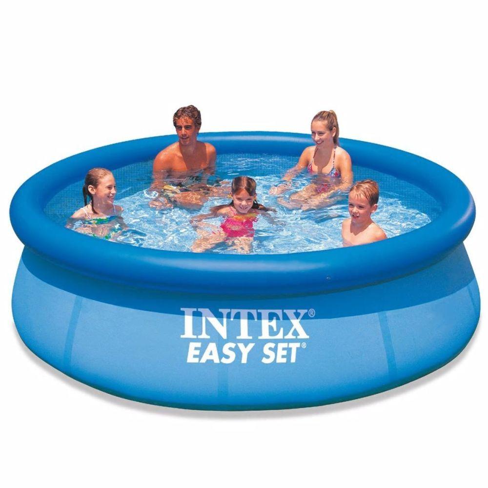 Intex - Intex Piscine Autoportante Easy Set 305 X 76 Cm 28122Gn tout Piscine Intex Autoportante