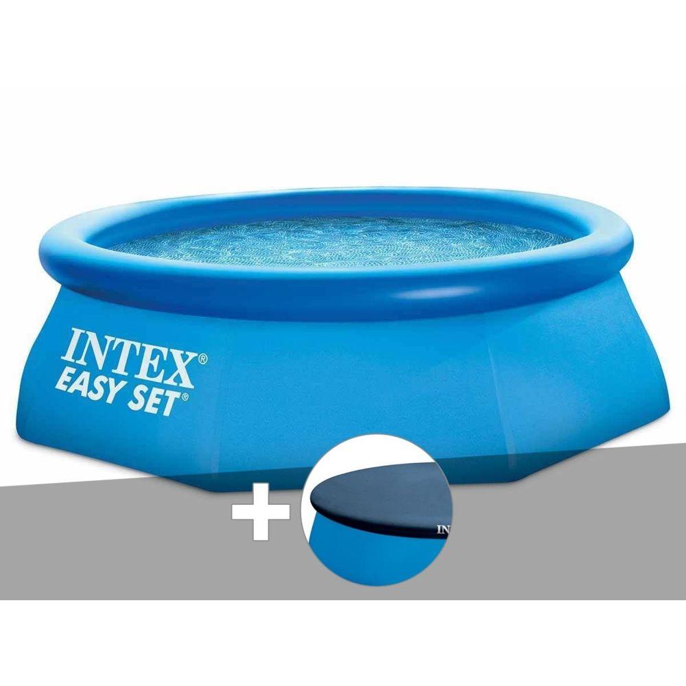 Intex - Piscine Autoportée Easy Set 2,44 X 0,76 M + Bâche - Intex encequiconcerne Bache Piscine Autoportée