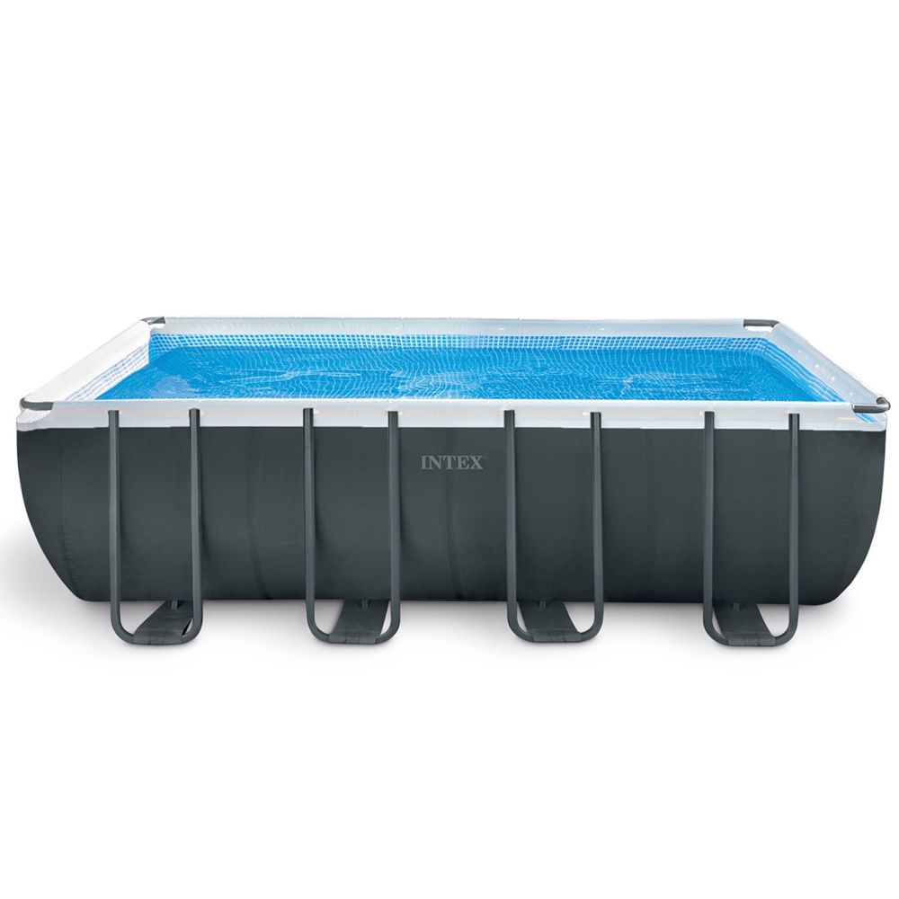 Intex - Piscine Tubulaire Ultra Xtr Frame Rectangulaire 5,49 X 2,74 X 1,32  M - Intex tout Piscine Intex Ultra Xtr Rectangulaire 5 49X2 74X1 32