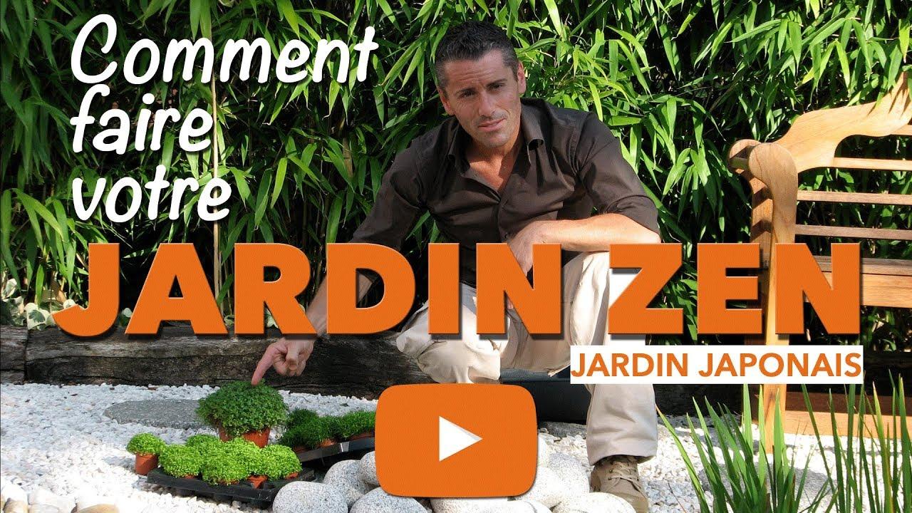 Jardin Zen-Comment Faire Un Petit Jardin Japonais ? à Deco Jardin Zen Extérieur Pas Cher