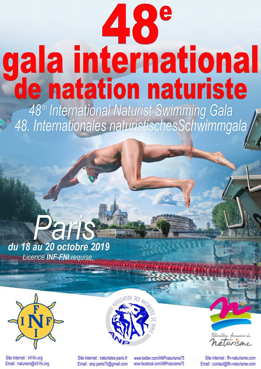 """Julien Claudé-Pénégry On Twitter: """"Paris Accueille Pour La ... tout Piscine Roger Le Gall Naturiste"""