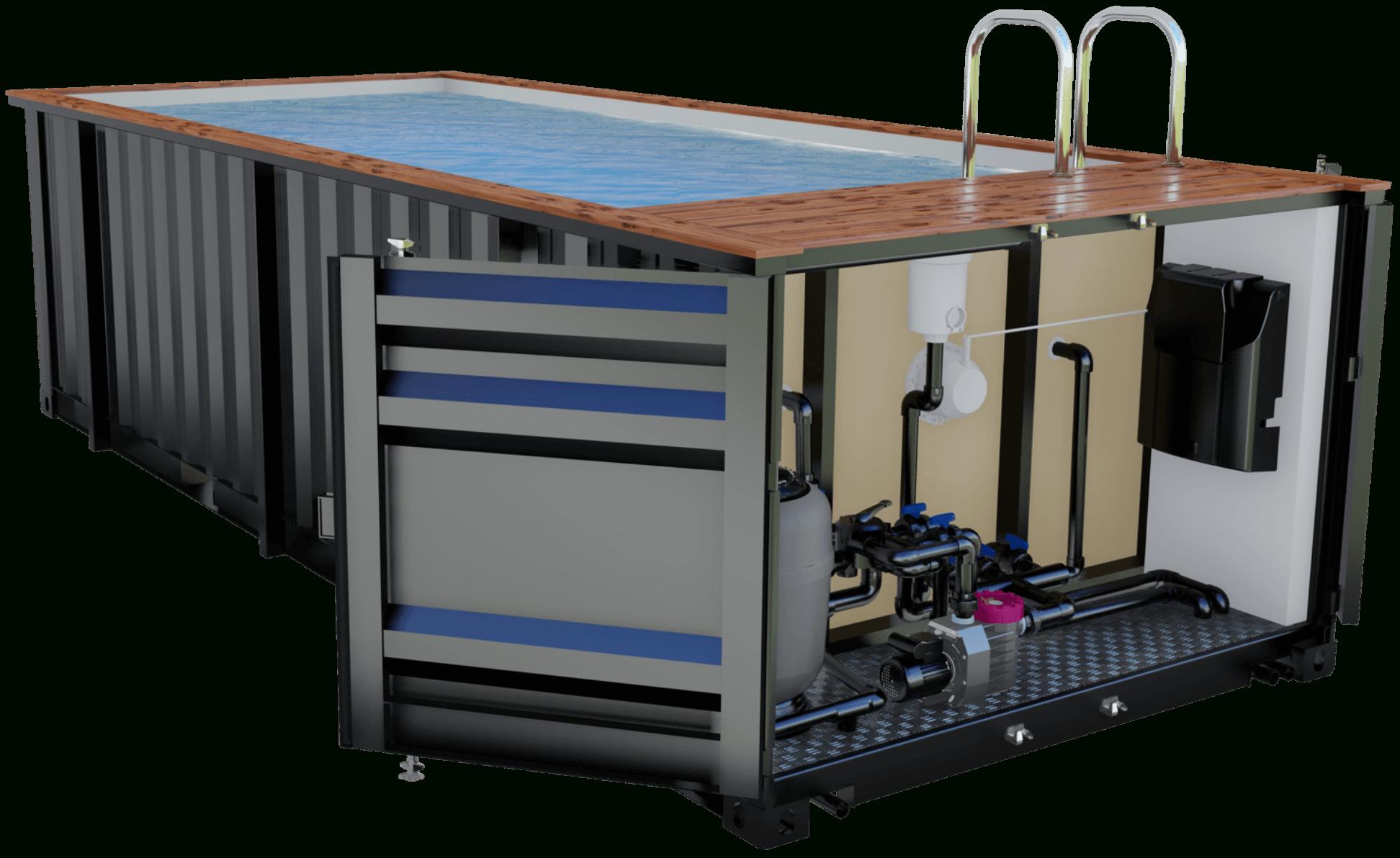 Kaseo   Piscine Container Écologique, Économique & Mobile tout Piscine Container France