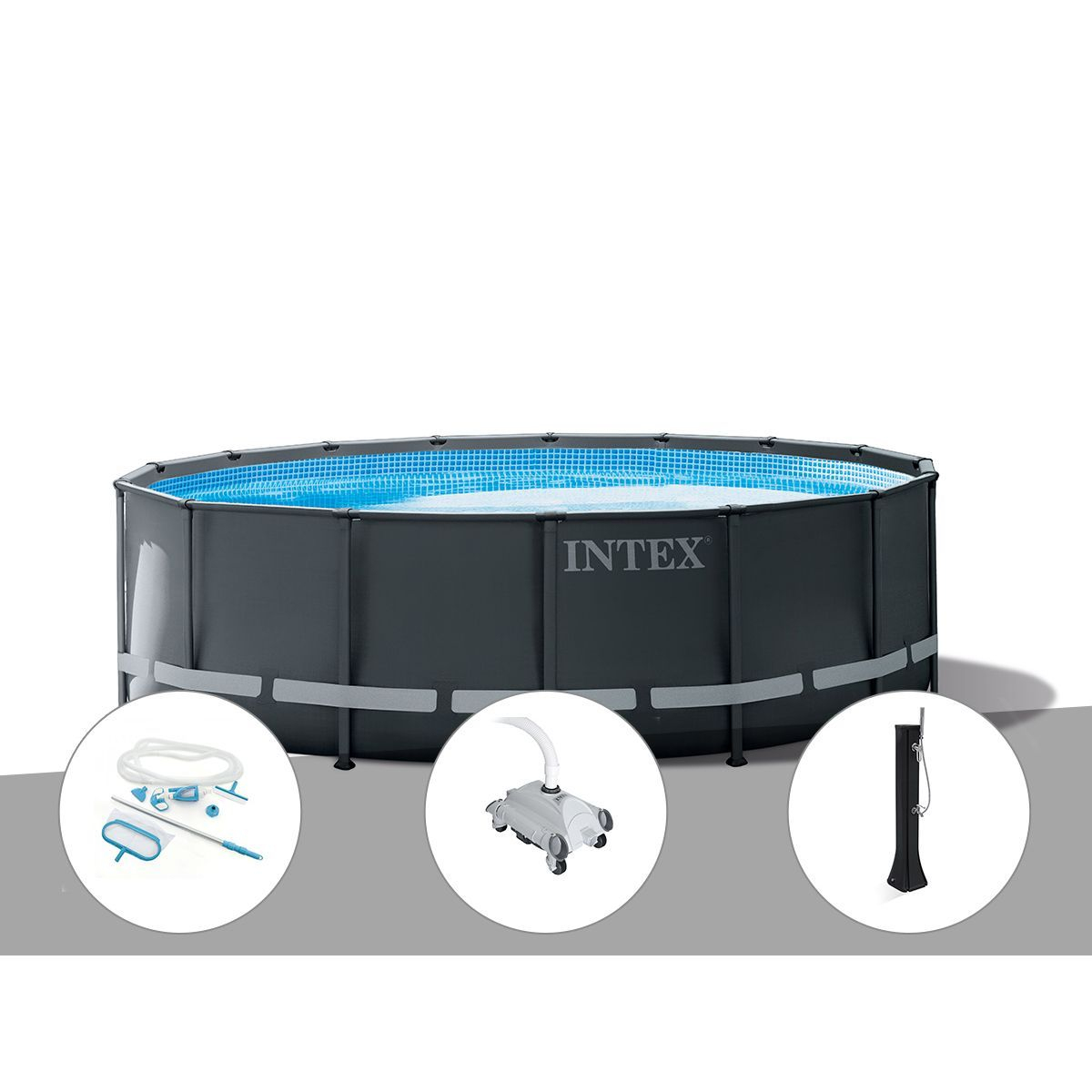 Kit Piscine Tubulaire Intex Ultra Xtr Frame Rectangulaire dedans Piscine Intex Ultra Xtr Rectangulaire 5 49X2 74X1 32