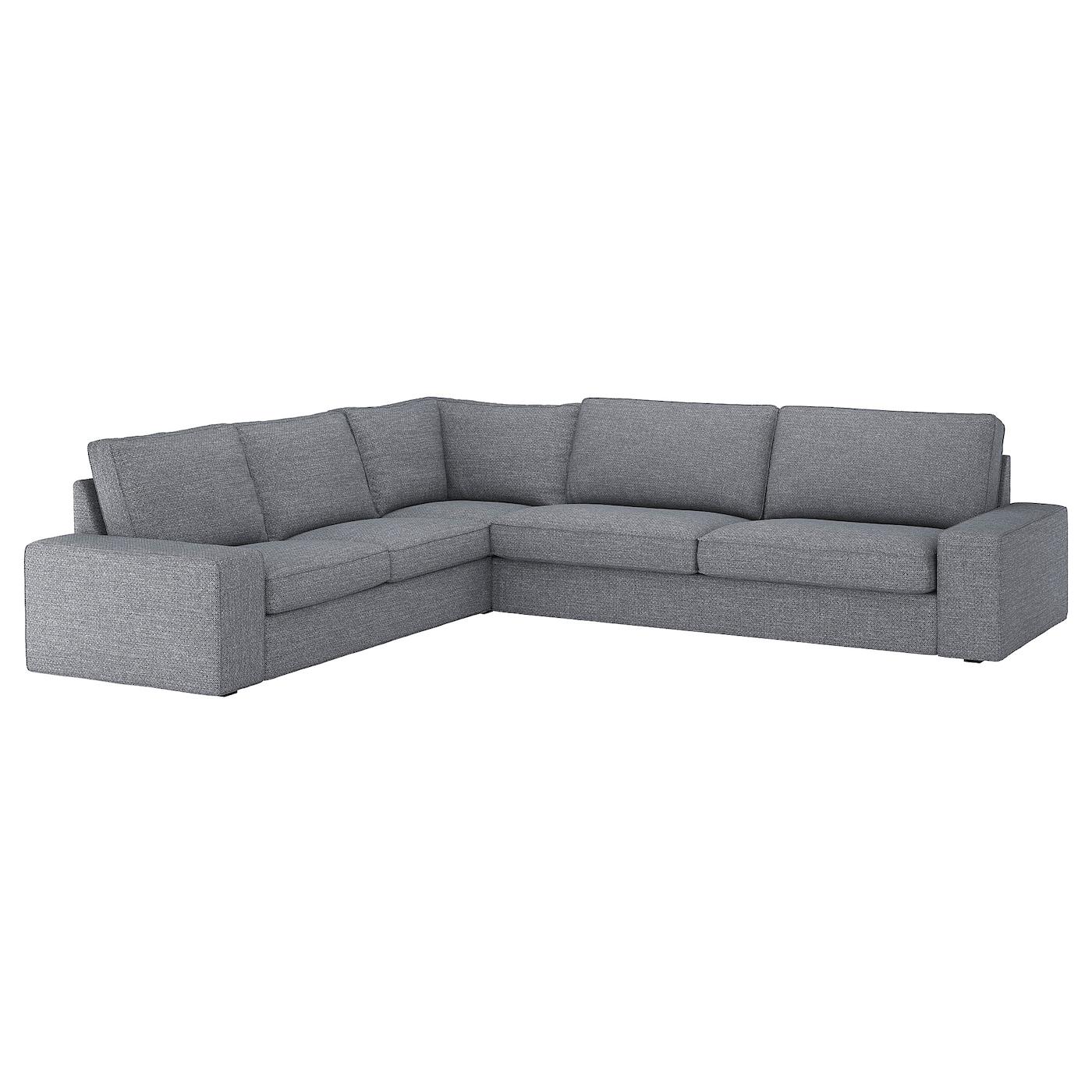Kivik Canapé D'Angle, 5 Places - Lejde Gris/Noir dedans Canapé D'Angle 8 10 Places Ikea