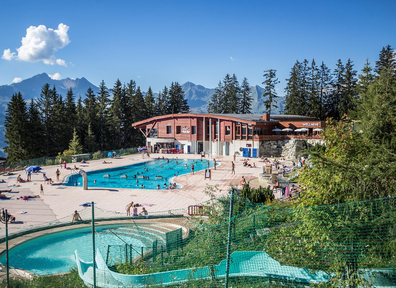 La Piscine - Savoie Mont Blanc (Savoie Et Haute Savoie) - Alpes serapportantà Piscine Arc 1800