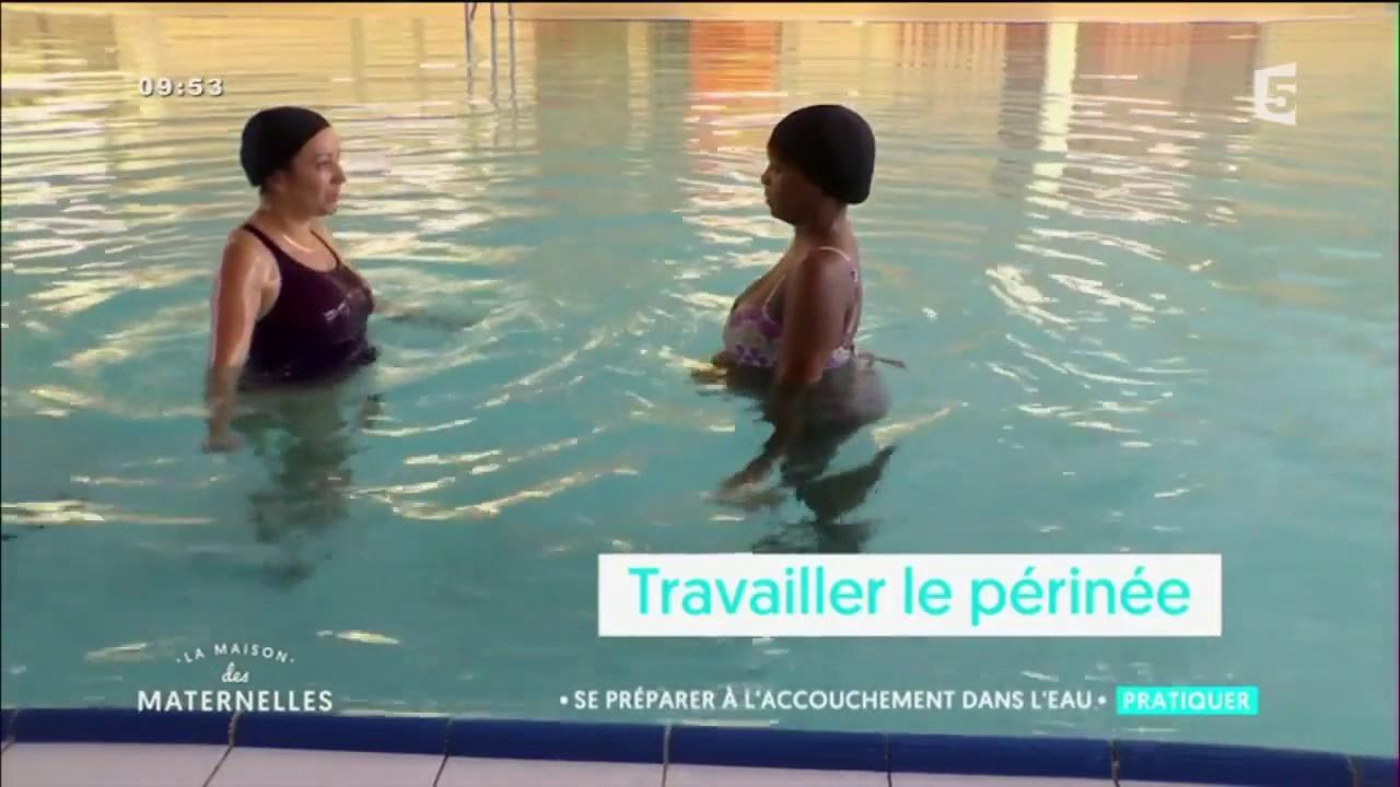 La Préparation À L'Accouchement Aquatique   Lmdm serapportantà Préparation Accouchement Piscine