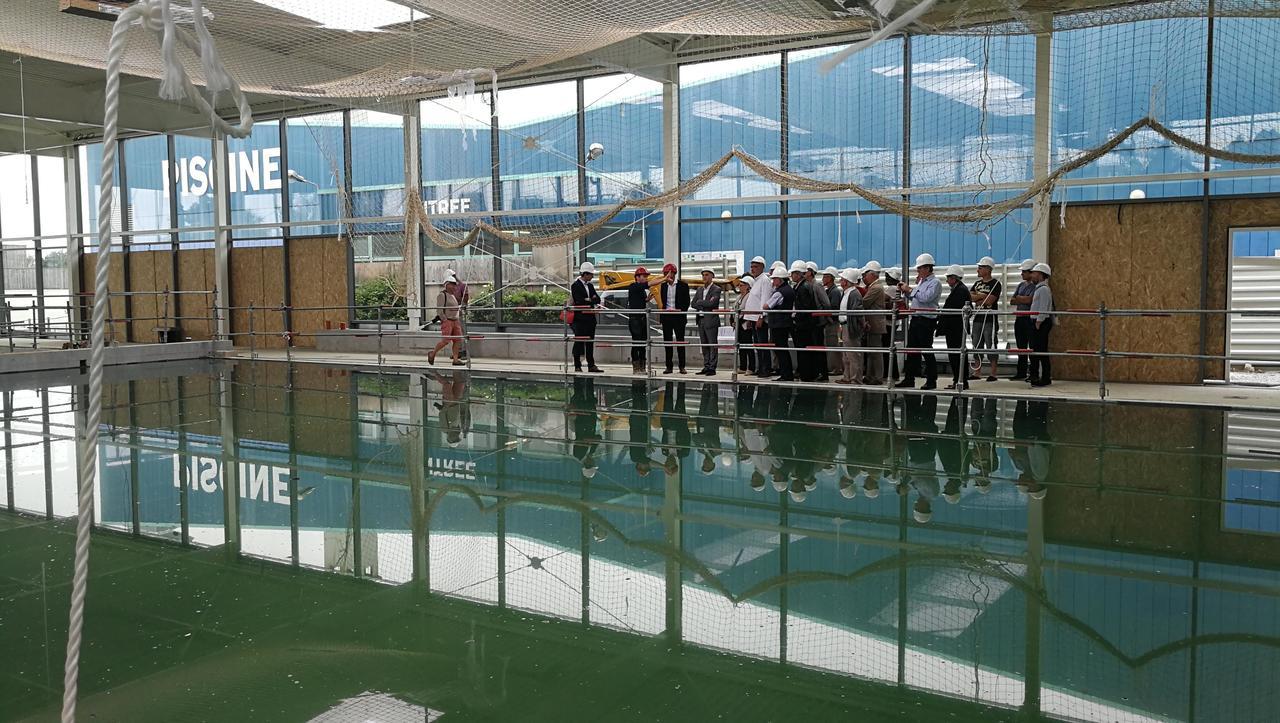 Le Centre Aquatique De Combourg Ouvrira En Décembre | Le ... concernant Piscine De Combourg