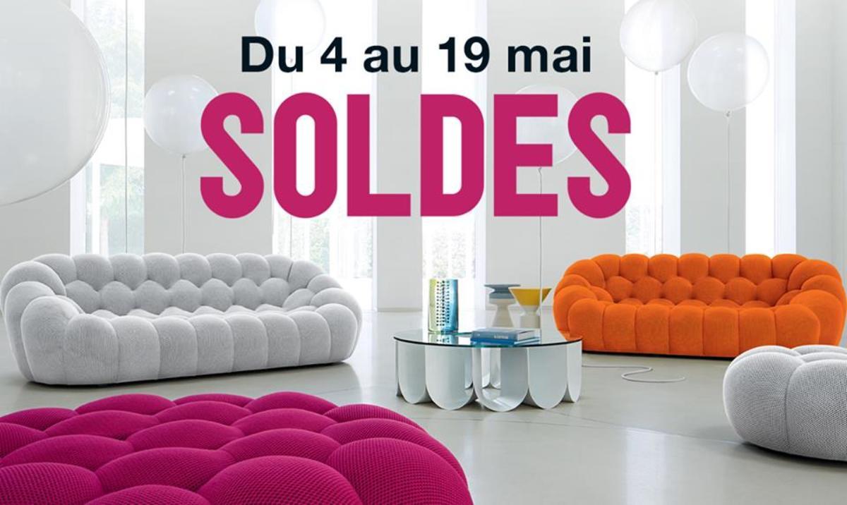 Les Soldes D'Été Commencent Déjà Chez Roche Bobois - Fdt pour Canapé Bubble Occasion