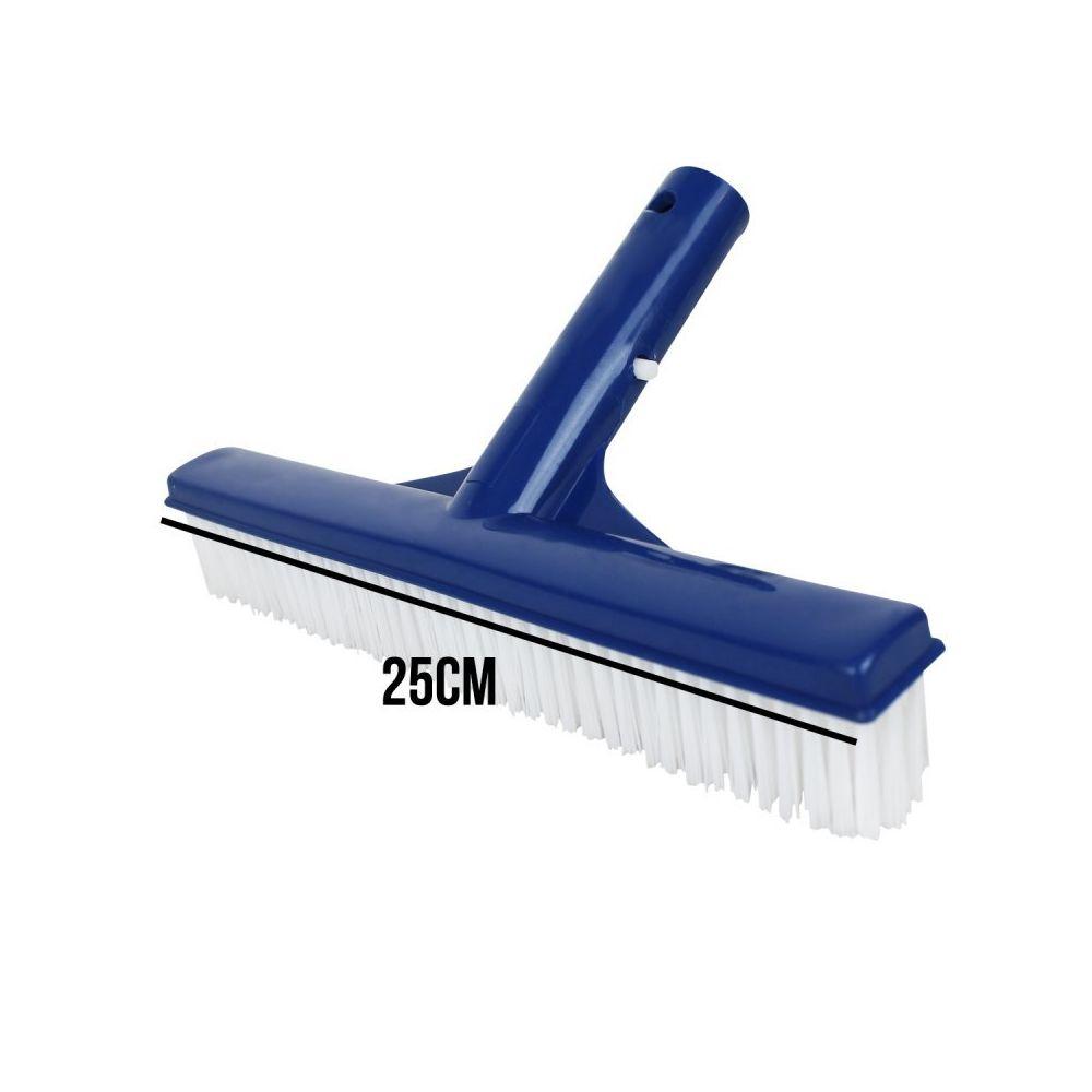 Linxor - Tête De Brosse Paroi 25 Cm Bleu Pour Piscine Adaptable Sur Manche  Standard Ou Télescopique tout Brosse Piscine