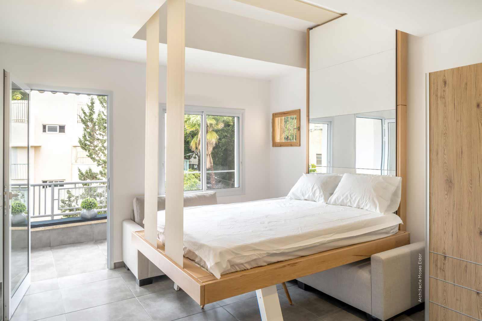 Lit Escamotable Bedup® : La Solution Pour Les Petits Espaces destiné Lit Escamotable Conforama