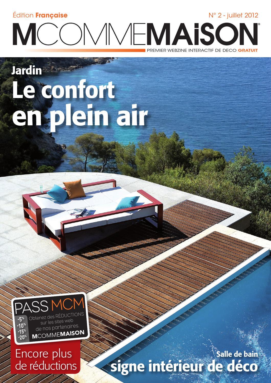 M Comme Maison - N°2 - Juillet - Aout 2012 By Atenao - Issuu à Musique Pub Diffazur
