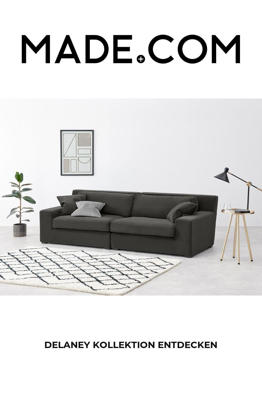 Made Sofa, Grade En 2020 | Canapé 3 Places, Canapé, Canapé ... dedans Canape 2 Place Convertble Style Coboy