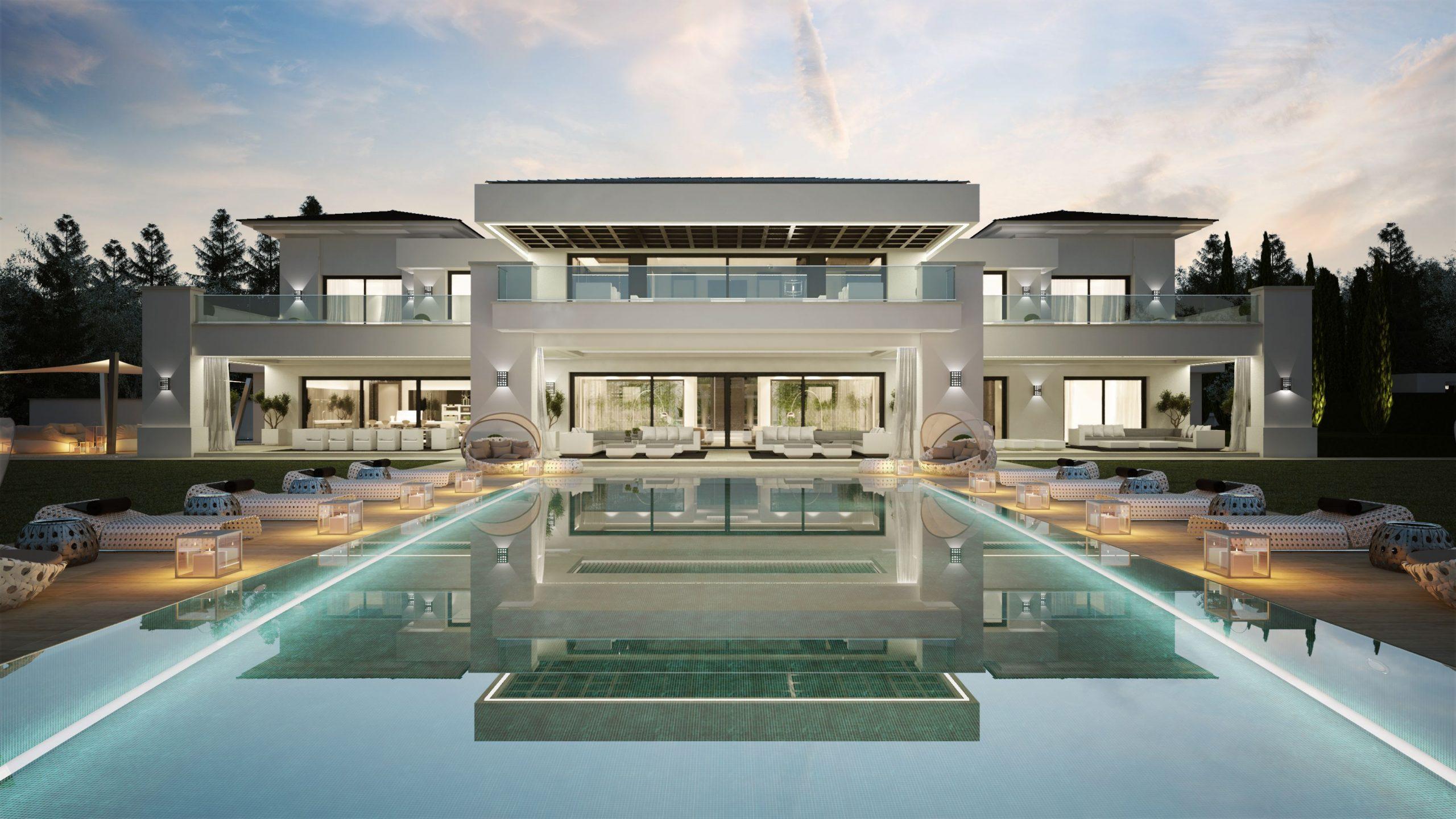 Maison Avec Piscine En Espagne   Maison De Luxe, Belle ... tout Villa En Espagne Avec Piscine