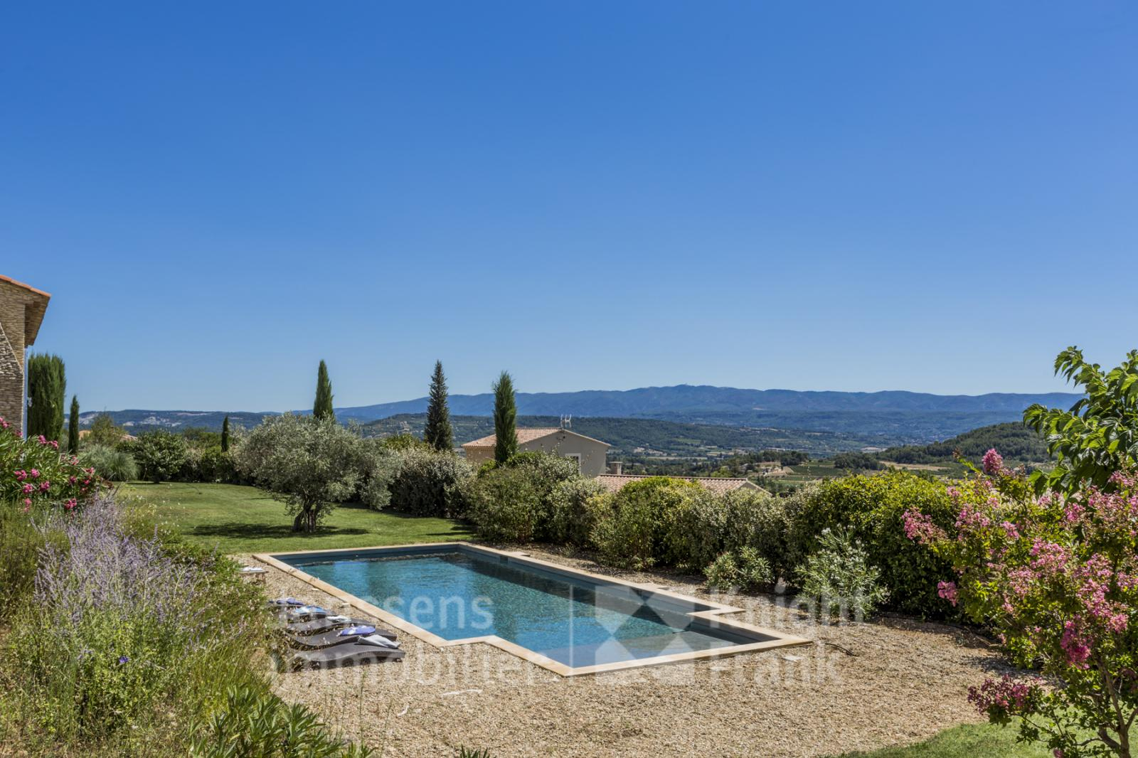 Mas With Pool And View For Sale In St Saturnin Les Apt ... pour Piscine Apt