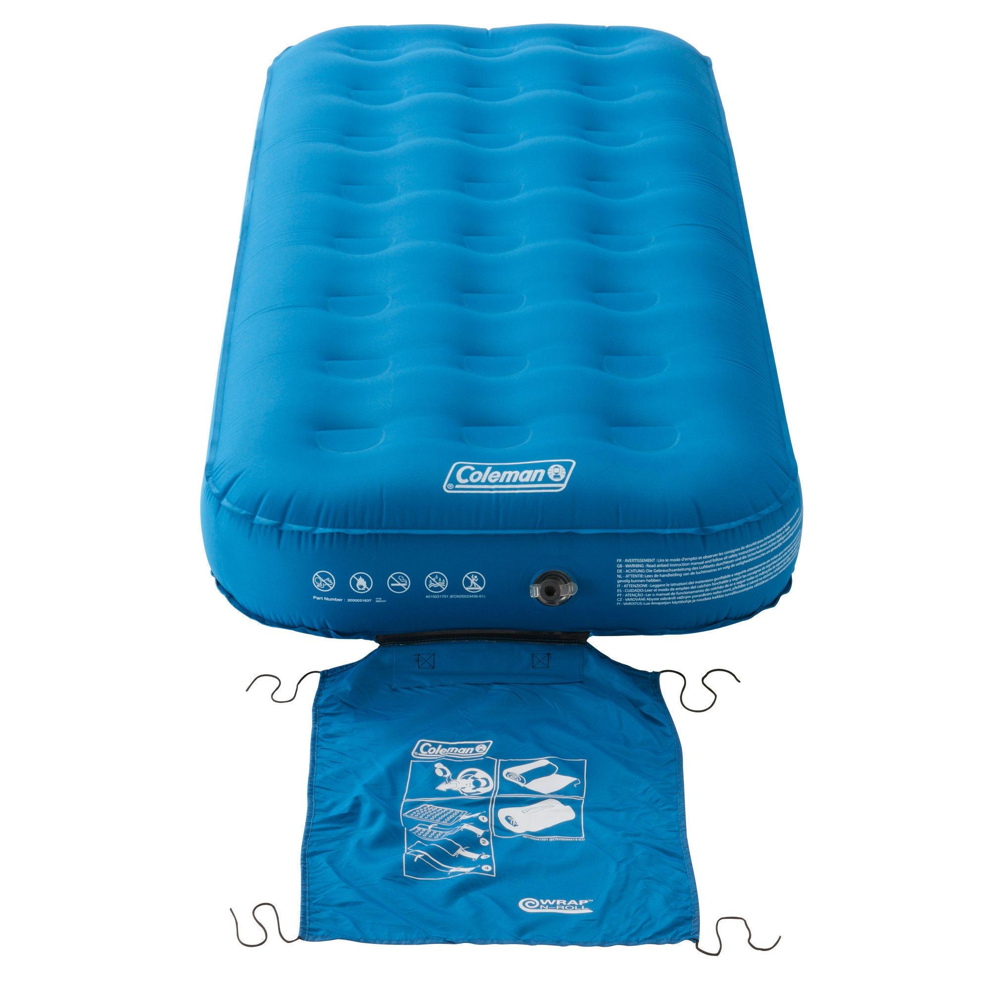 Matelas Gonflable De Camping - Extra Durable Airbed 82 Cm - 1 Personne dedans Matelas Gonflable Piscine Decathlon