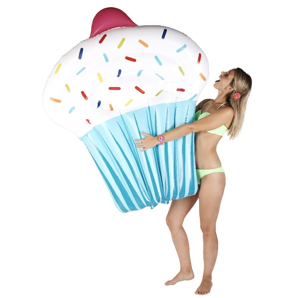 Matelas Gonflable Piscine Cupcake à Siege Gonflable Piscine Gifi