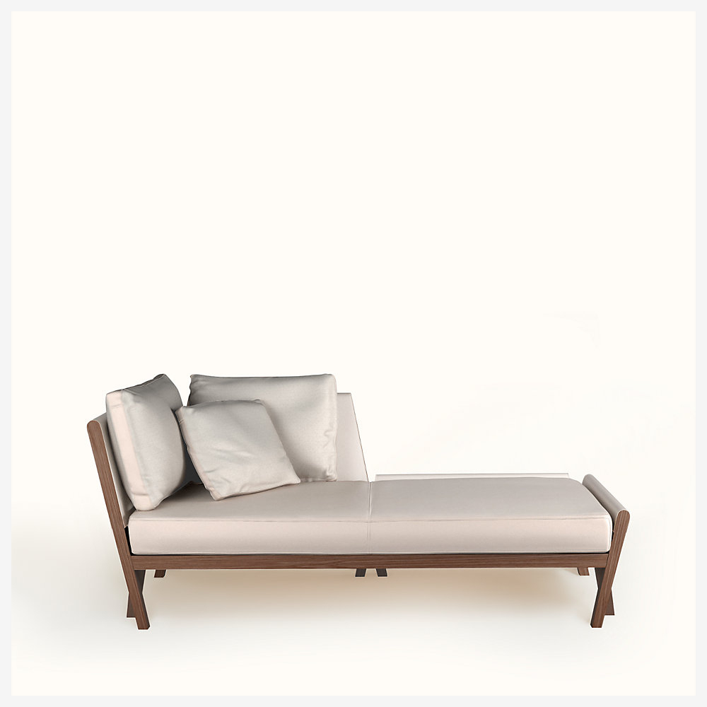 Matieres Chaise Lounge serapportantà Chaise Oceania