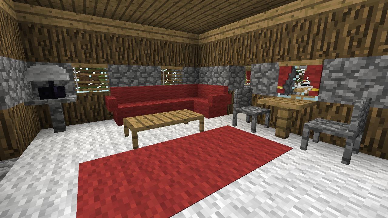 Minecraft Mod Minecraft : Mrcrayfish'S Furniture destiné Faire Un Canapé Minecraft