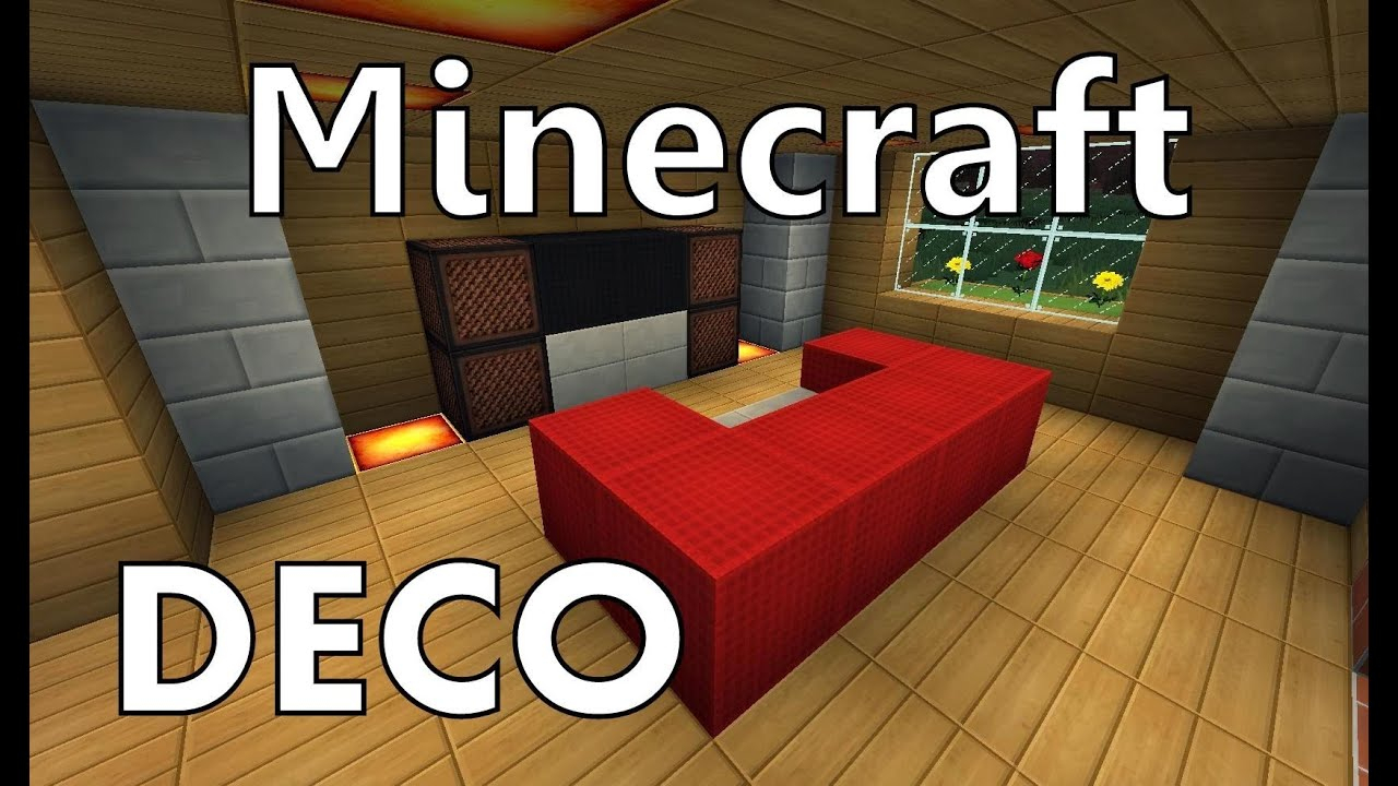 Minecraft|Comment Faire Un Canapé - destiné Comment Faire Un Canapé Sur Minecraft