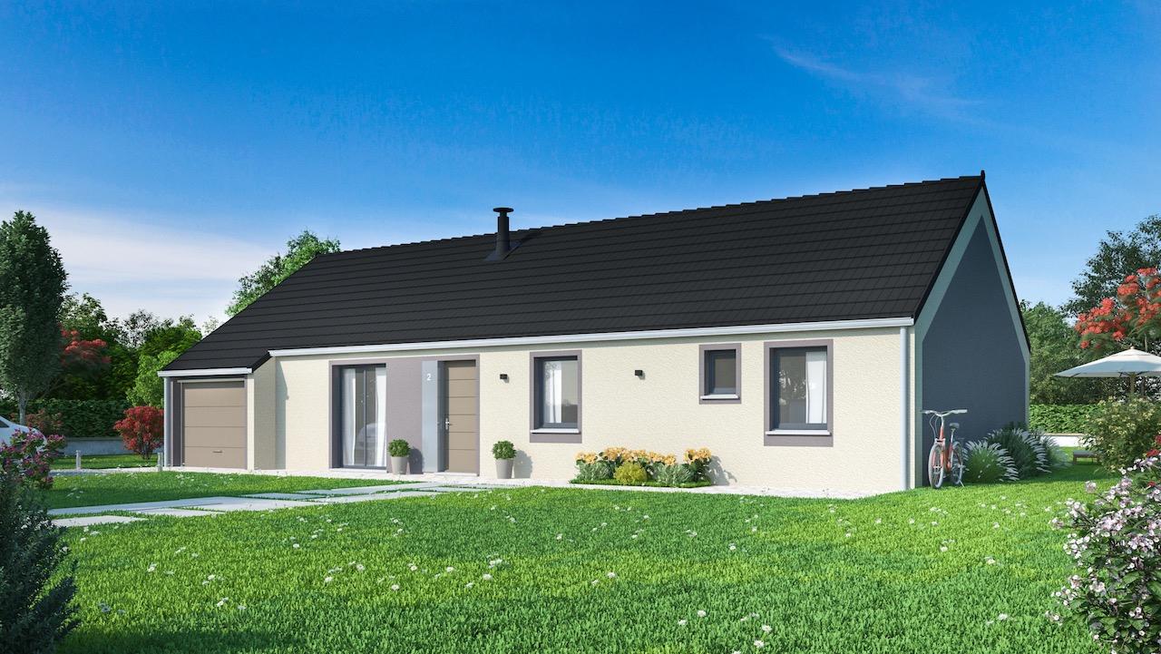 Modeles Et Plans Maison Plain Pied | Maisons Phénix dedans Aménagement Extérieur Maison Plain Pied