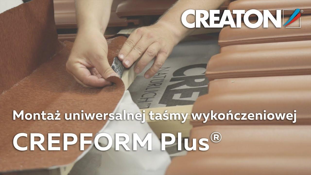 Montaż Aluminiowej Taśmy Wykończeniowej - Creaton Crepform Plus avec Taśma Wakaflex Castorama