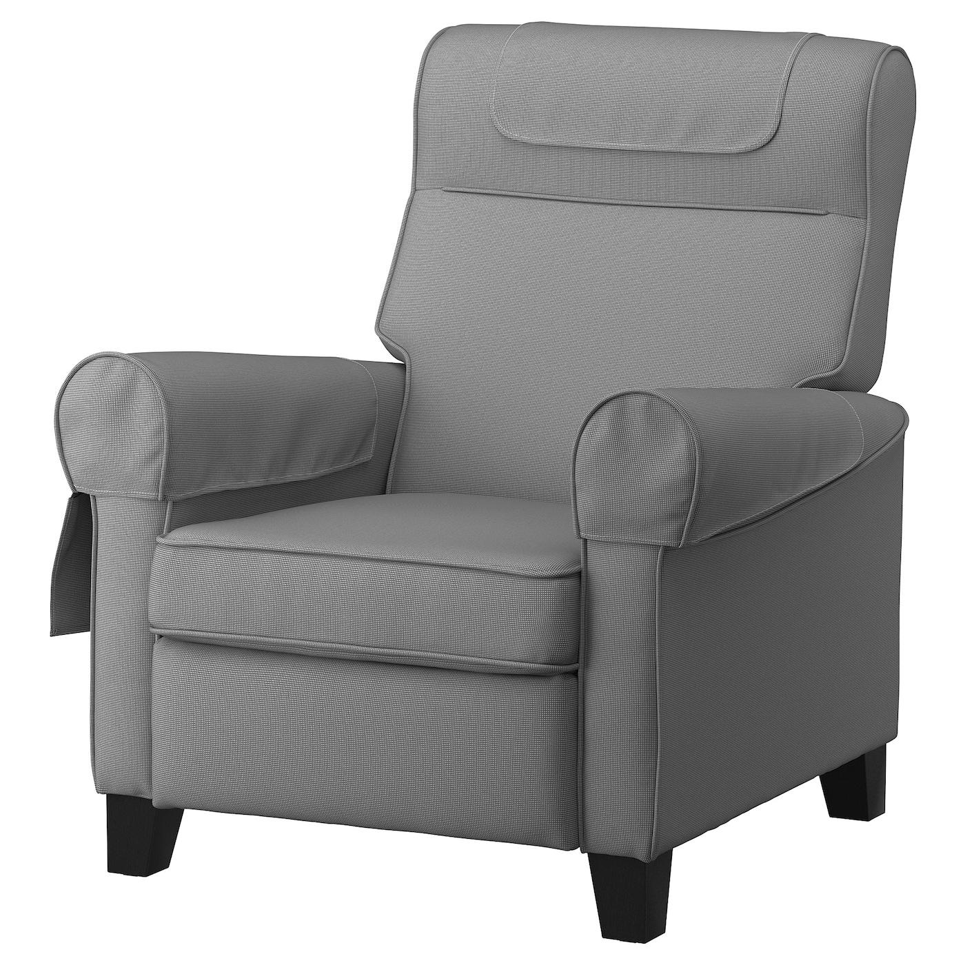 Muren Fauteuil Confort - Remmarn Gris Clair concernant Fauteuil Relax Électrique Ikea