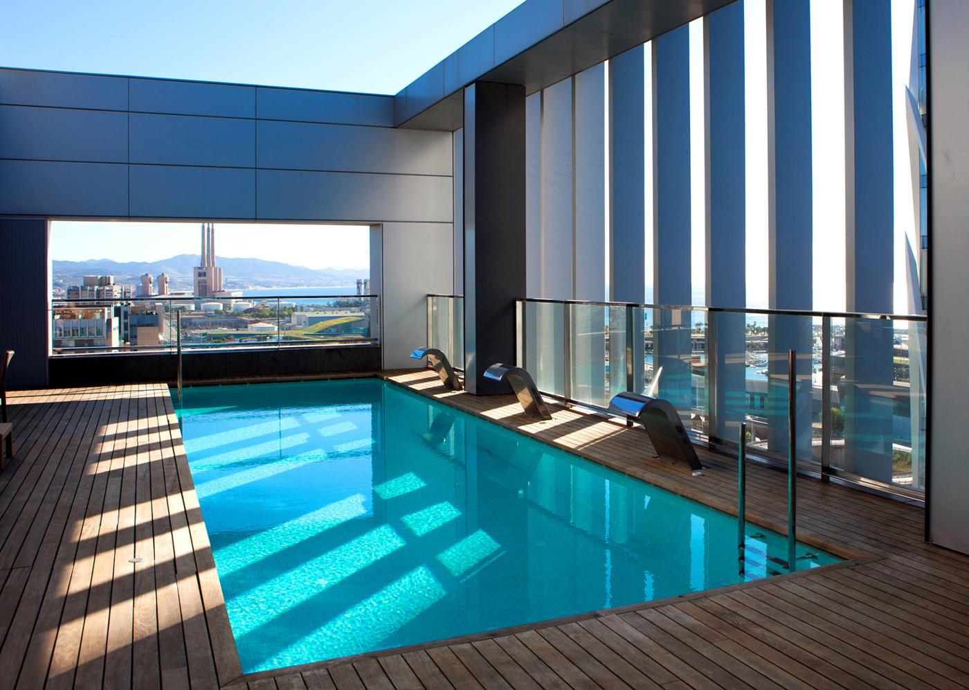 Na | 8 Hôtels À Barcelone Avec Piscine tout Hotel Avec Piscine Barcelone