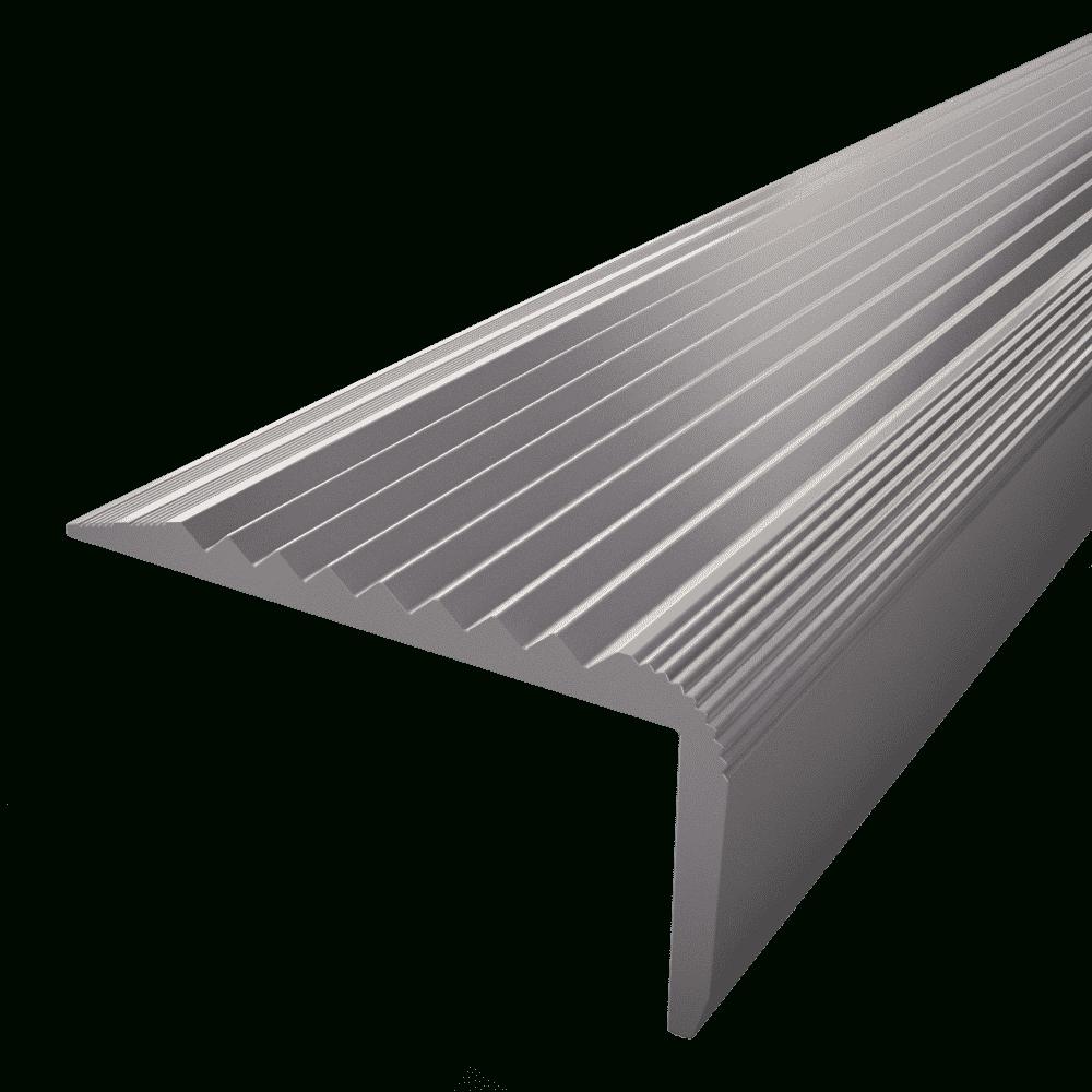 Nez De Marche Aluminium Et Antidérapant 40 Mm X 20 Mm X 3 X 3 M tout Nez De Marche Dalle 20 Mm