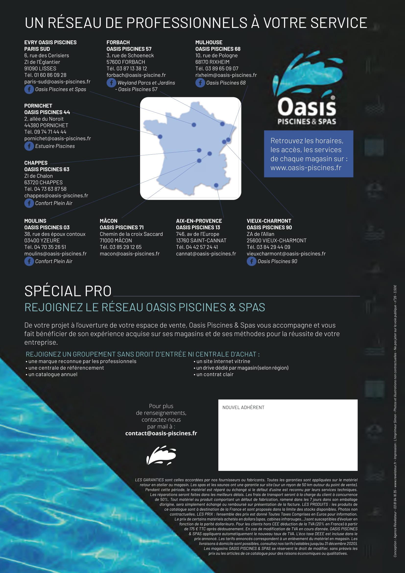 Oasis Piscine - Catalogue Virtuel tout Oasis Piscine Rixheim